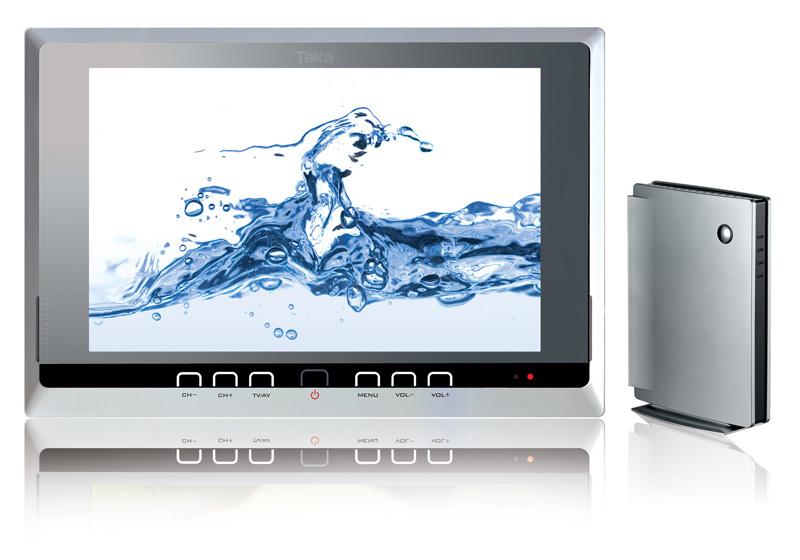 Badkamer tv waterdicht van splashvision ook draadloos - Afbeelding voor badkamer ...